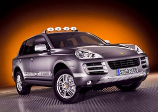 Illustration for article titled Porsche To Offer 2009 Cayenne S Transsyberia