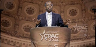 Dr. Ben Carson speaks during the 41st annual Conservative Political Action Conference at the Gaylord International Hotel and Conference Center on March 8, 2014 in National Harbor, Md.T.J. Kirkpatrick/Getty Images