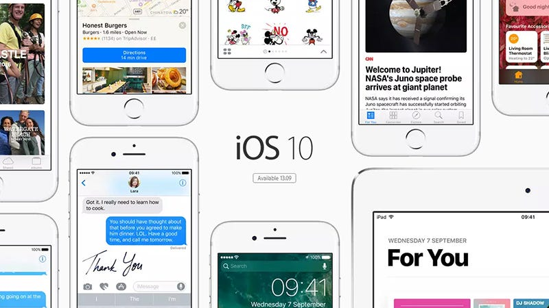 Illustration for article titled 23 Things You Can Do in iOS 10 You Couldn't Before