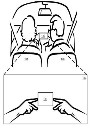 Illustration for article titled Apple Patent Outlines Smarter and Safer...In-Car Navigation Interface?