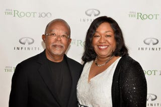 Henry Louis Gates Jr., editor-in-chief of The Root, and Shonda Rhimes attend The Root 100 2014 List Release Reception on Aug. 19, 2014, in Edgartown, Mass.Paul Marotta/Getty Images for The Root