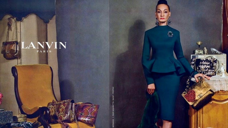 Illustration for article titled 'Real People' Star in Lanvin's Fall Ads