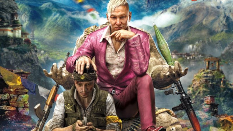 Illustration for article titled Ubisoft announces Far Cry 4, now with more homoerotic scalp touching