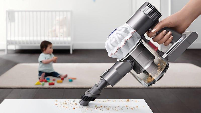 Dyson V6 Baby + Child Handheld Cordless Vacuum, $169