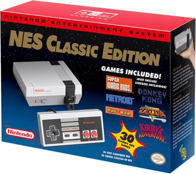 Illustration for article titled NES Classic goes on sale at 5pm