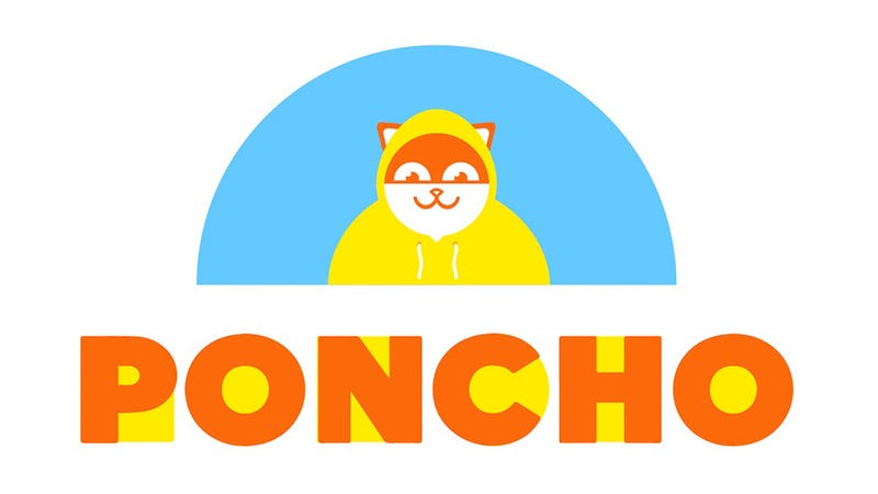 Illustration for article titled Poncho: The Best Weather Service You've Never Heard Of