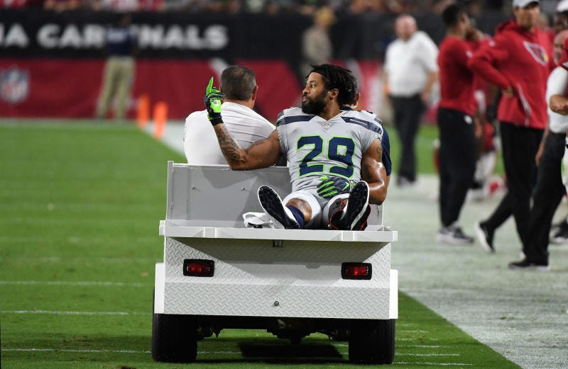 Illustration for the article entitled Earl Thomas says he does not regret turning the bird over at Pete Carroll.