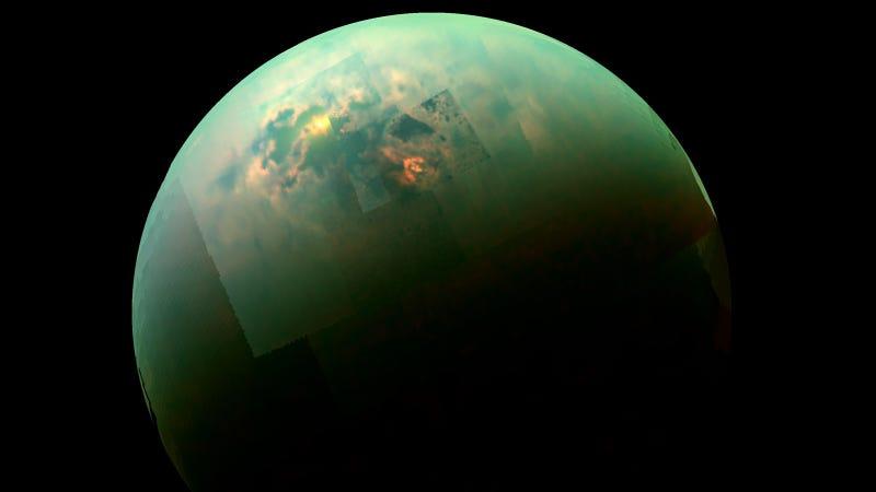 Resultado de imagen de La luna Titan