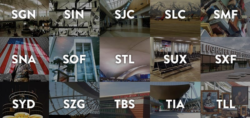 Illustration for article titled Flying SUX! The Weirdest Stories Behind Our Airport Codes