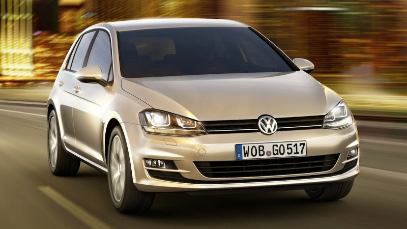 Illustration for article titled 2014 Volkswagen Golf: This Is It