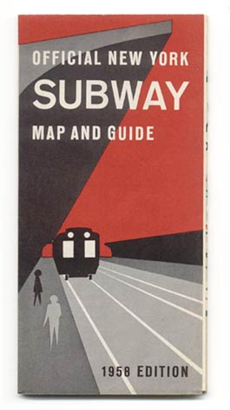 Subway Maps That Trace NYCs Transit History - New york map highways