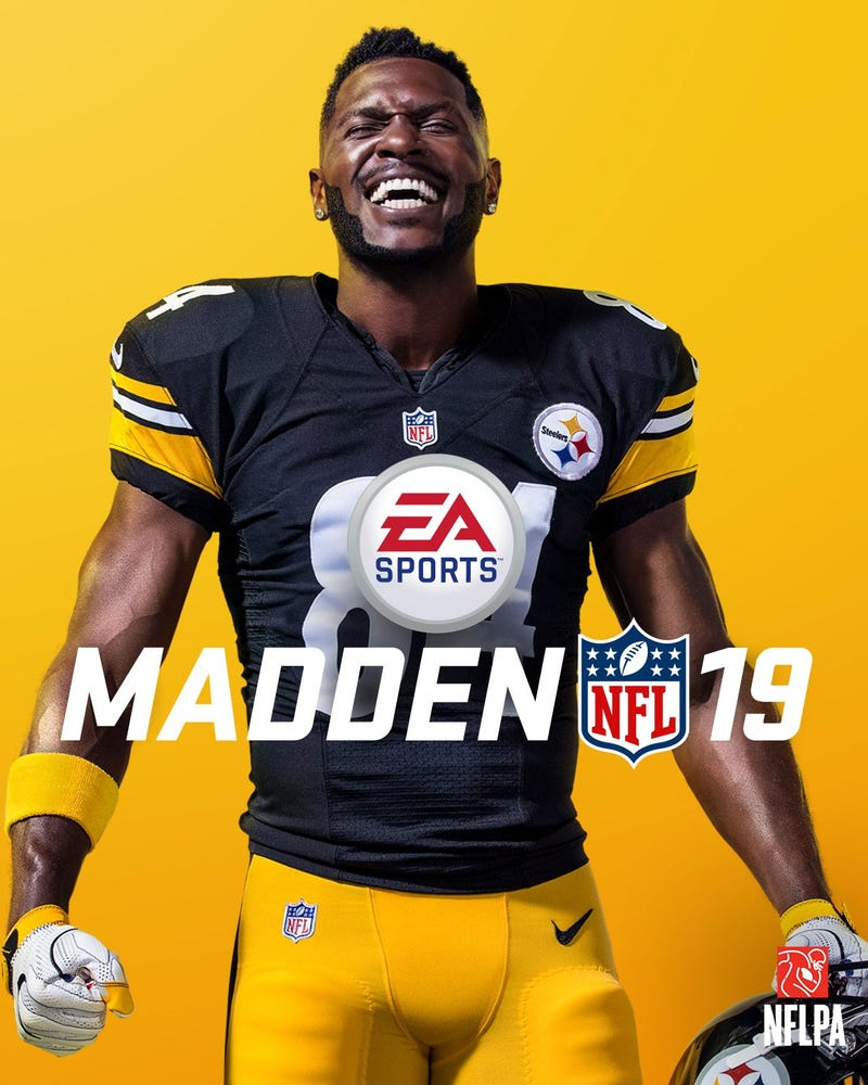 Illustration for article titled Antonio Brown Is Madden 19's Cover Star