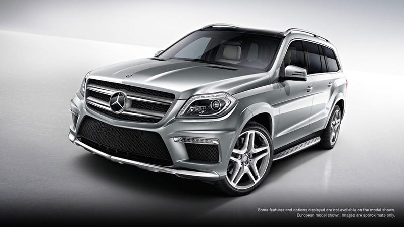 Illustration for article titled 2013 Mercedes GL AMG Gallery