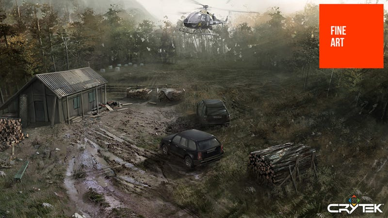 Illustration for article titled Cancelled Crytek Game Looked More Alan Wake Than Crysis