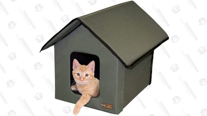K&H Heated Outdoor Kitty House | $35 | Amazon
