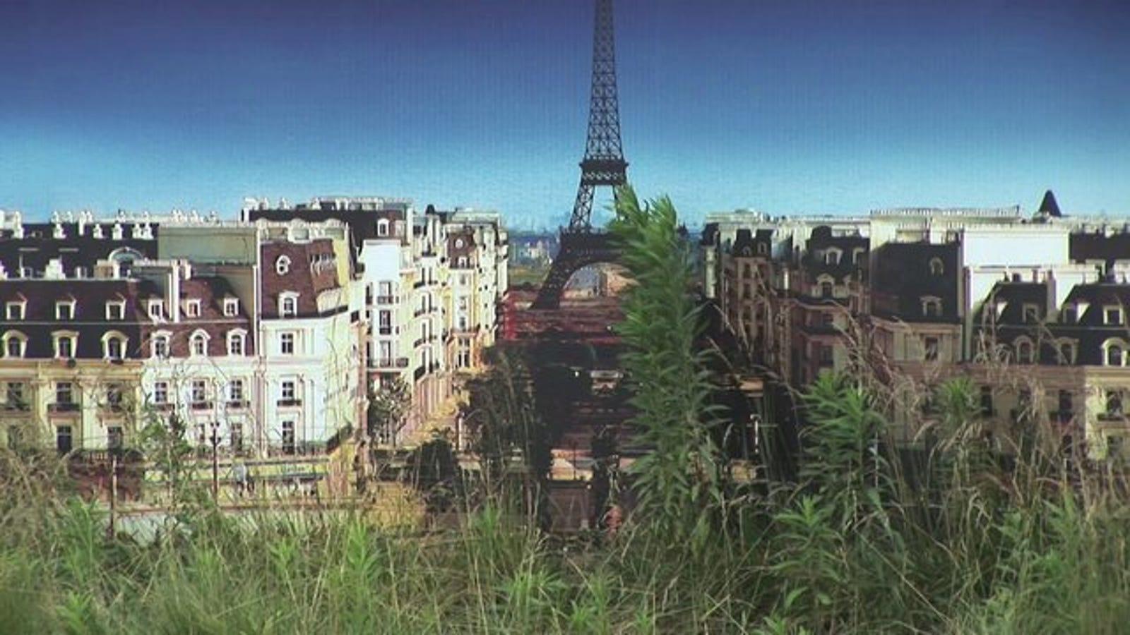 Hay otro París en China, pero está abandonado