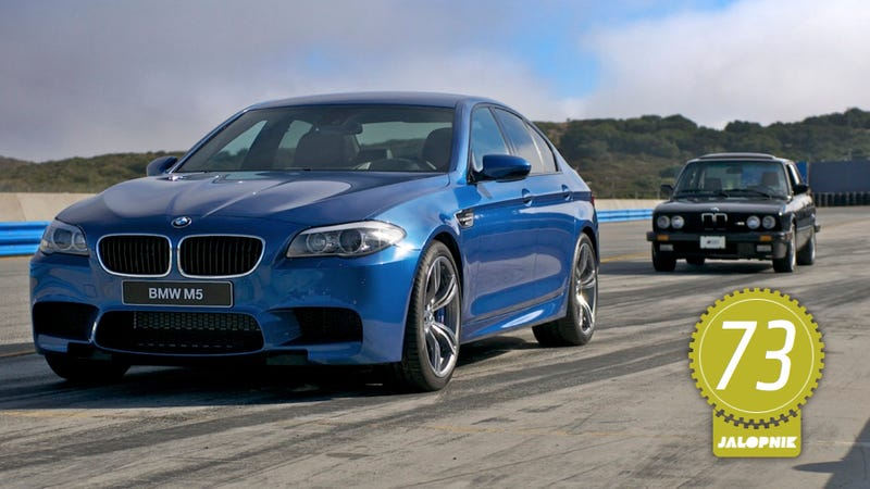 Illustration for article titled 2013 BMW M5: The Jalopnik Review