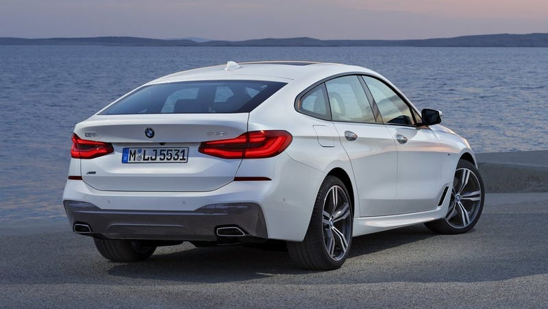 Illustration for article titled A Note to Our Readers: We Completely Forgot The BMW 6 Series Gran Turismo Even Existed