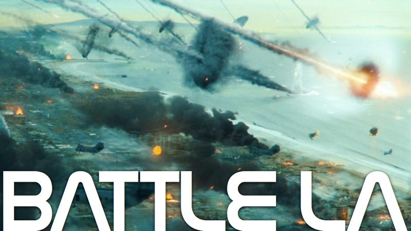 Illustration for article titled How to make a realistic, reverent war movie...with aliens