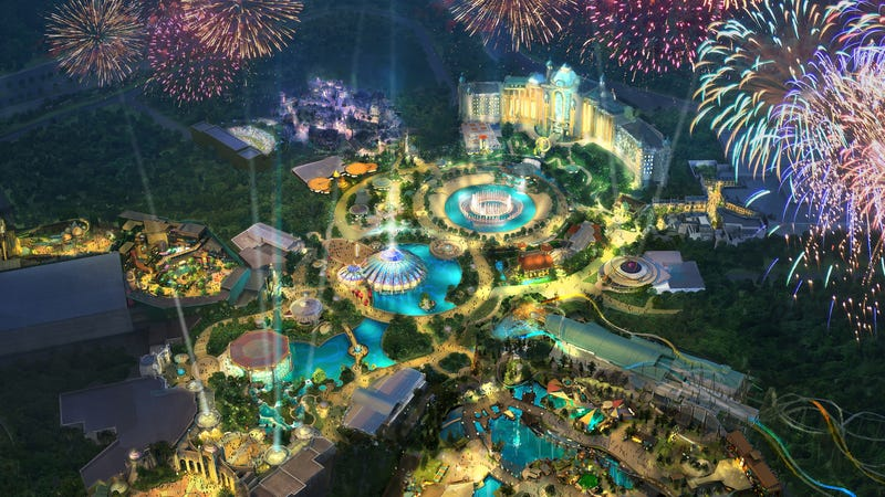 Universal announces new Epic Universe theme park, possibly with Nintendo attractions