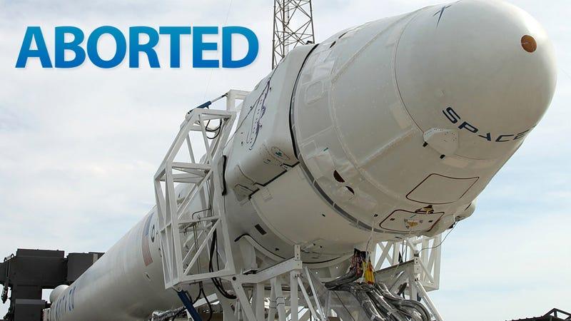 Engine Problems Delay Falcon 9's Historic Launch
