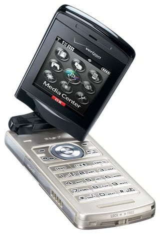 Illustration for article titled Ruggedized Casio Exilim Rotating Flip Phone Packs 5.1MP Camera