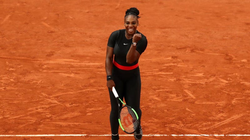 Illustration for article titled French Open Won't Let Serena Williams Wear Her Sick Black Catsuit: 'It Will No Longer Be Accepted'