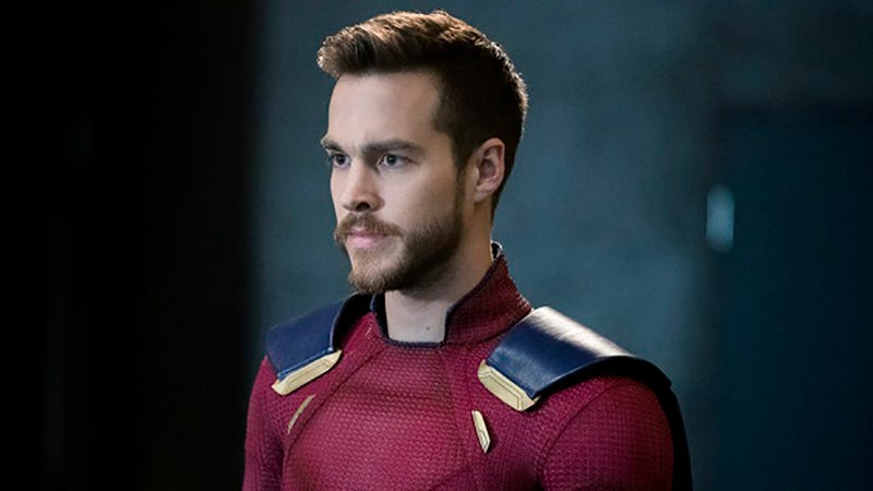 Mon-El (Chris Wood) is a problem that's about to be solved.