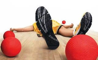 Illustration for article titled Dodgeball Lawsuit Makes Me Fear For The Manliness Of Our Youth