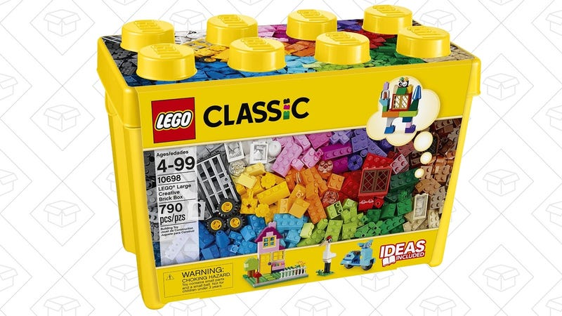 LEGO Classic Large Creative Brick Box, $50