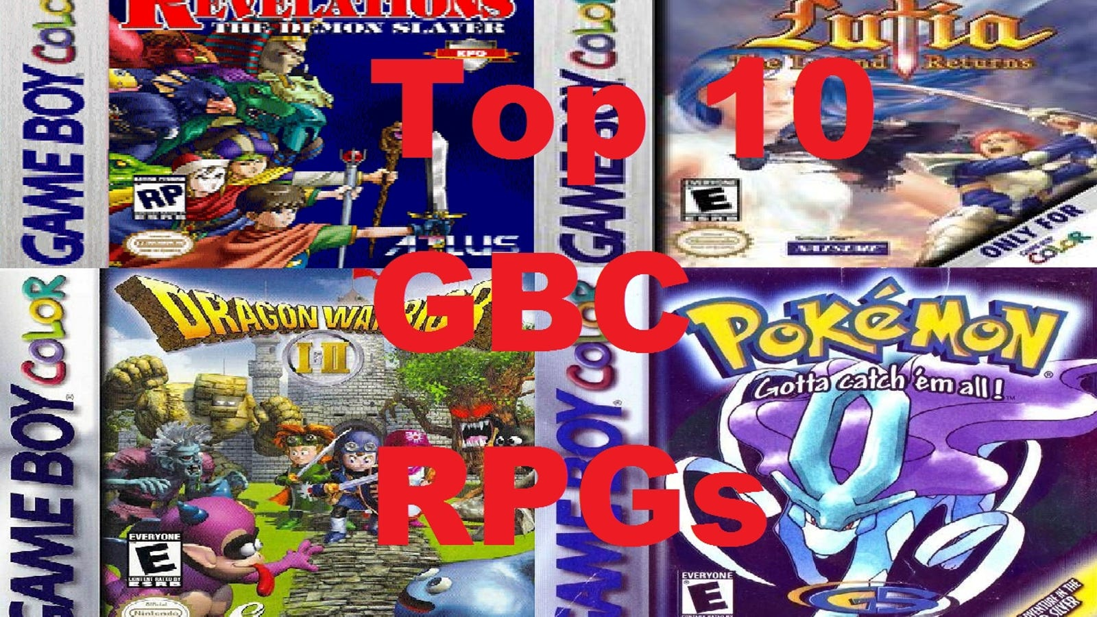 Top 10 Gameboy Color RPGs