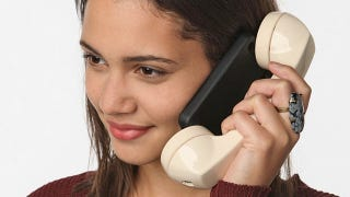 Illustration for article titled Urban Outfitters Wants $45 for an iPhone Case Glued Attached to a Retro Handset
