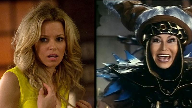 Illustration for article titled Elizabeth Banks to play Rita Repulsa in the Power Rangers movie