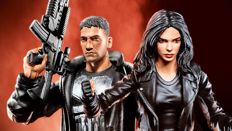 Illustration for article titled Hasbro's Marvel Knights Figures Look Like TV Stars