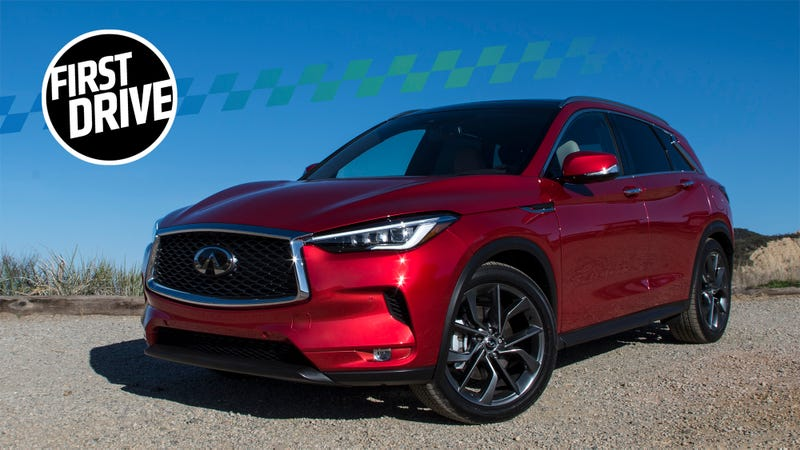 The 2019 Infiniti QX50 Is A High-Tech Baby Stroller With A Trick ...