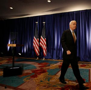 Illustration for article titled John McCain Walks Away From Debates, His Pride, And America Itself