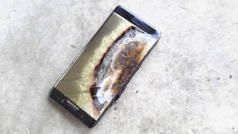 Illustration for article titled U.S. Galaxy Note 7's Will Be Capped at 60% Battery Very Soon