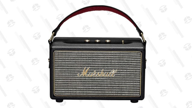 Tune Into This Deal on a Marshall Bluetooth Speaker