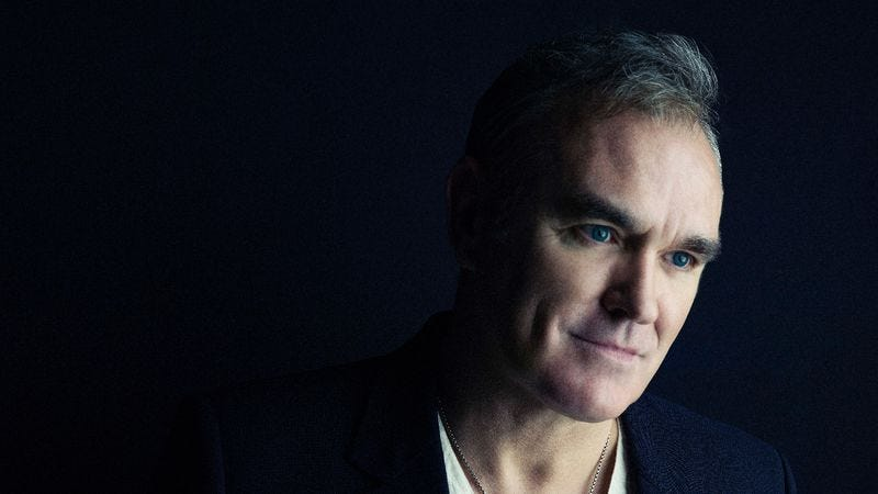Illustration for article titled After a 5-year lull, Morrissey returns—and shrugs