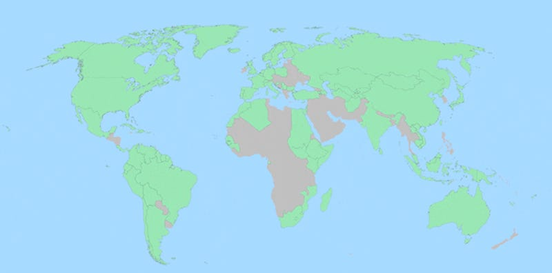 Maps news videos reviews and gossip gizmodo here are some joyously random facts about every country in the world updated gumiabroncs Images