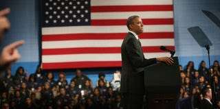 President Barack Obama (Scott Olson/Getty Images News)