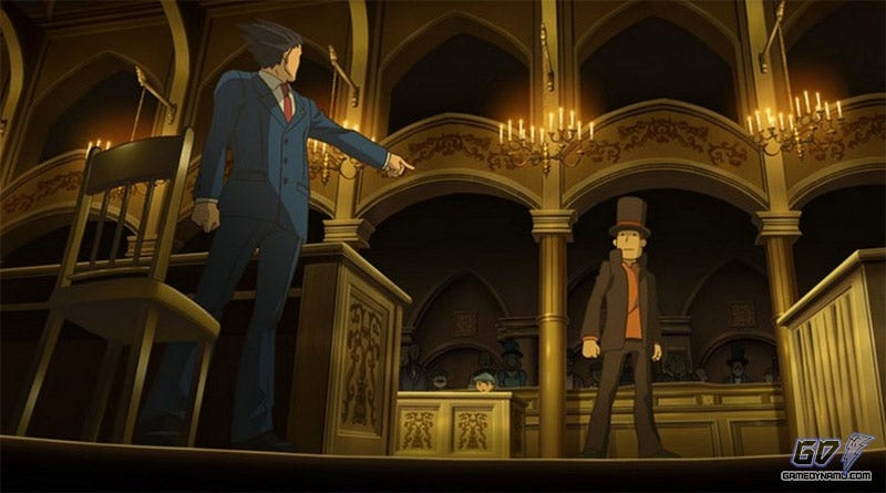 Illustration for article titled My Phoenix vs. Your Layton: Pt. 1