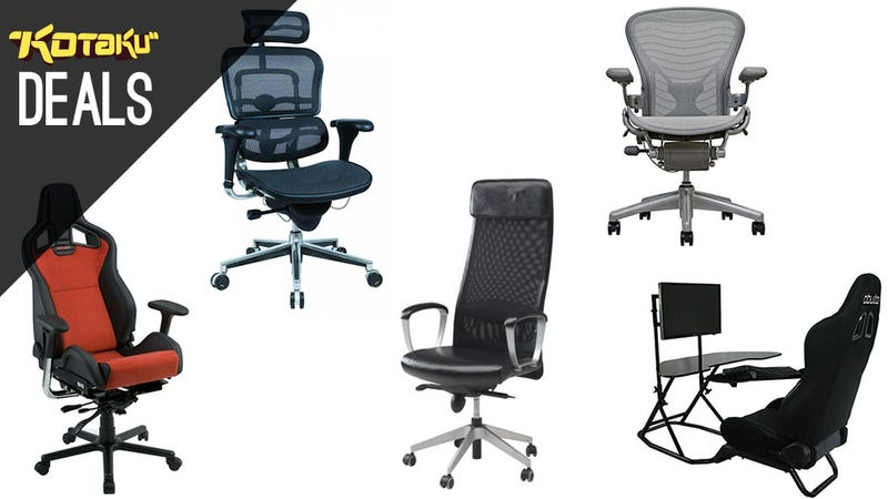 Illustration for article titled Your 5 Nominations For Best Gaming Chair For Your Desk