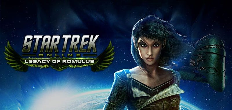 Illustration for article titled Star Trek Online gets its first expansion, Legacy of Romulus!