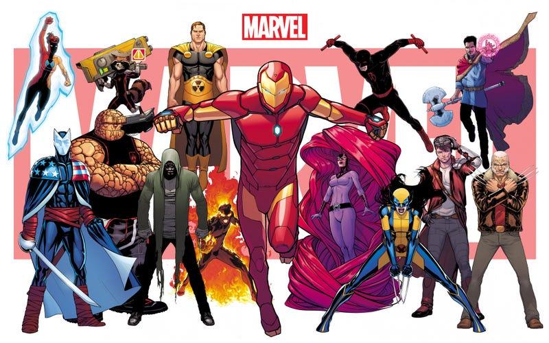 Illustration for article titled Estos son todos los cómics que formarán parte del nuevo universo Marvel