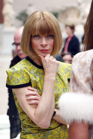 Illustration for article titled Anna Wintour Is Silently Judging You