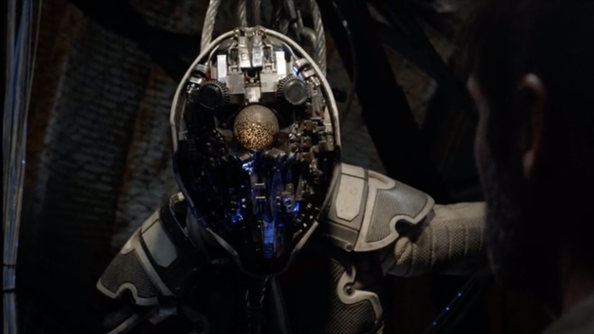 Colony Finally Showed Us A Damn Alien And It Was Good Google Mask
