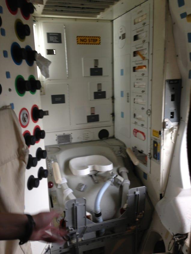 youtube space shuttle toilet - photo #12