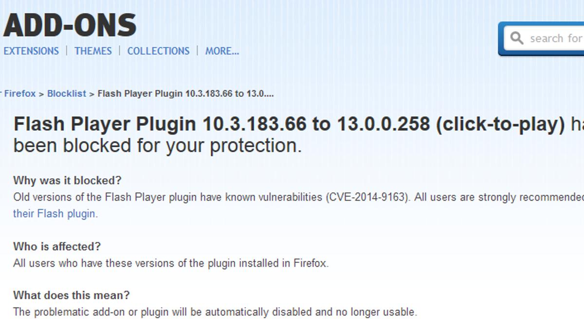 Firefox Now Blocks Flash By Default (Update)