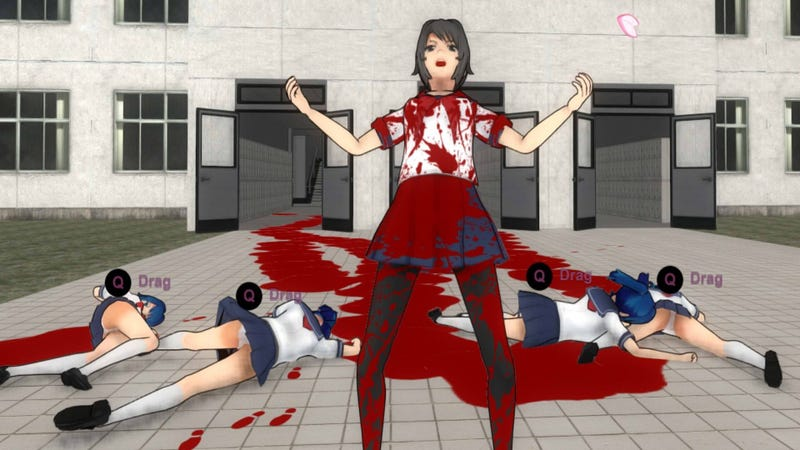 Illustration for article titled Yandere Simulator Dev Says Twitch Hasn't Told Him Why His Game Was Banned